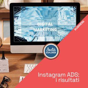 Instagram ADS | I risultati