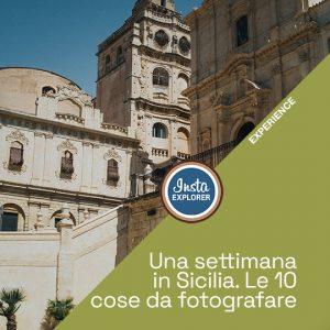 Una settimana in Sicilia, da Taormina a Scicli le 10 cose da fotografare.
